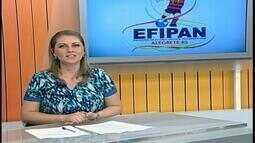 Homenagens à Chapecoense marcam o início do Efipan, em Alegrete,RS