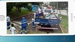 Guarda Municipal de Mogi fez balanço de apreesões em feira de Jundiapeba