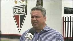 Diretor de futebol do Atlético-GO, Adson Batista fala sobre polêmica com Marcelo Cabo