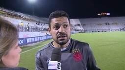 Eder Luis diz que o Vasco ainda está sendo montado e pede paciência ao torcedor