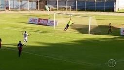 Zagueiros do Campos Atlético garantem empate contra o Nova Iguaçu