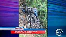 Homem morre em acidente na costa sul de São Sebastião