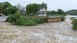 Aumento do nível do Rio Tietê deixa em alerta a Defesa Civil de Salto