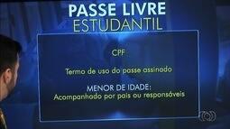 Estudantes podem fazer recadastramento do passe livre, em Goiânia