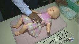Encontro de bebê e babás acontece no shopping de Poços de Caldas (MG)