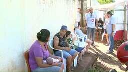 Voluntários promovem ação social no bairro Morumbi