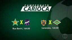 Cinfira os próximos jogos do Campeonato Carioca