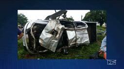 Em Campestre, na BR-010, dois acidentes deixaram duas pessoas mortas em menos de 24h