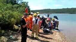 Bombeiros tentam reanimar auditor do TCU afogado no Lago Paranoá