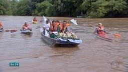 Imagem de Nossa Senhora Aparecida é levada para região de Dois Irmãos do Buriti