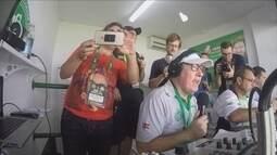 Rafael Henzel, sobrevivente de tragédia com a Chape, narra gol do time após acidente