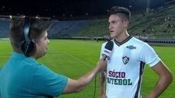 """Pedro vibra com primeiro gol no time profissional: """"Era para chegar a minha hora"""""""