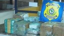 Duas pessoas são presas tentando deixar o estado de RO com drogas