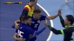 Os gols de Catalunha 0 x 4 Brasil em amistoso internacional de futsal