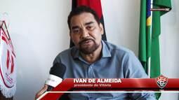 Vitória na TV - Bate-papo com o presidente Ivan de Almeida