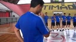 Corinthians apresenta time de futsal praticamente reformulado