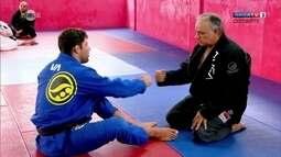 O lutador de jiu-jitsu Marcus Buchecha e o pai contam por que começaram a lutar