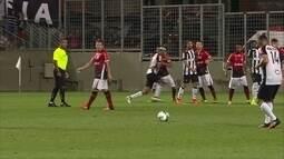 Melhores momentos: Atlético-MG 2 x 0 Joinville, pela Copa da Primeira Liga