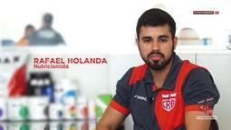 CRB na TV - Entrevista com Rafael Holanda, nutricionista do clube