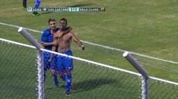 Os gols de São Caetano 3 x 1 Velo Clube pela Série A 2 do Campeonato Paulista