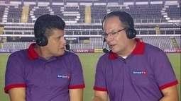 Luiz Ademar explica vitória do São Paulo sobre o Santos na Vila Belmiro