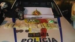 Polícia Militar apreende uma das maiores quantidades de drogas sintéticas do DF