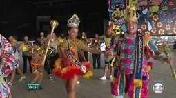 Baile Municipal leva frevo e solidariedade ao Classic Hall