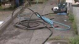 Furto de cabos elétricos deixa duas unidades de saúde sem energia