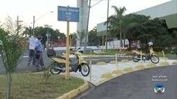 Avenida Nuno de Assis é interditada para obras de despoluição do Rio Bauru