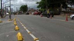 Proibição de giro à esquerda gera dúvidas na Avenida Norte