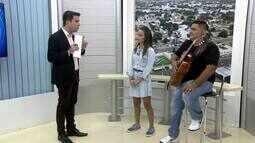 Luna Pietá é a representante de Roraima no The Voice Kids