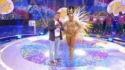Glaucia dos Santos é a primeira finalista do 'Musas do Carnaval'