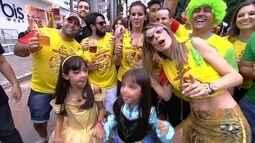Bloco começam a chegar no Parque Vaca Brava para o carnaval