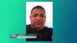 Vampeta, ex-Timão, critica atuação do Corinthians contra o Audax-SP