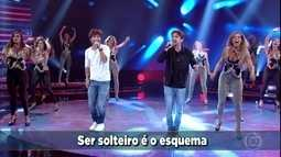 Bruninho e Davi cantam 'Se Namorar Fosse Bom'