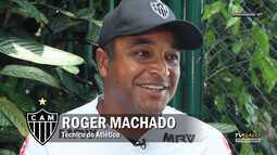 TV Galo - Bate-papo com o técnico Roger Machado