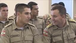 Governador anuncia convocação de 1.084 policiais militares em SC