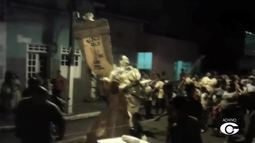 Desfile de blocos de carnaval faz alegria de moradores de Pilar