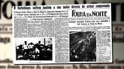 """""""Memória Redação"""" relembra primeiro clássico entre Palmeiras e Corinthians"""