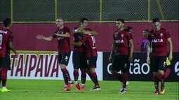 Os gols de Vitória 3 x 2 Bragantino pela Copa do Brasil