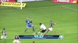 Corinthians vence Palmeiras em clássico marcado por expulsão de jogador errado