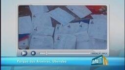 VC no MGTV: moradora reclama de lixo deixado por construtora em bairro de Uberaba