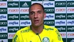 Veja o que falou Fernando Prass, goleiro do Palmeiras, na coletiva desta quinta-feira
