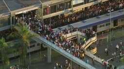 Sistema de trilhos da Região Metropolitana sofre o terceiro descarrilamento em 1 mês