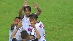 Os gols de Coritiba 0 x 2 ASA pela Copa do Brasil
