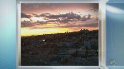 'Na Janela': telespectadores registram céu cor-de-rosa na região