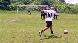 Filhos de Marcelinho Carioca fazem pré-temporada com o Corinthians USA em Mogi das Cruzes