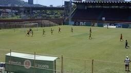 Em jogo-treino bem disputado e sob forte calor, Desportiva vence o Tupy-ES no Eng. Araripe