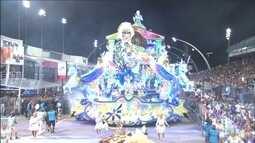 Tucuruvi e Águia de Ouro fecham a primeira noite dos desfiles de São Paulo