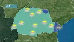 Sábado de carnaval será de chuva em todo o Paraná